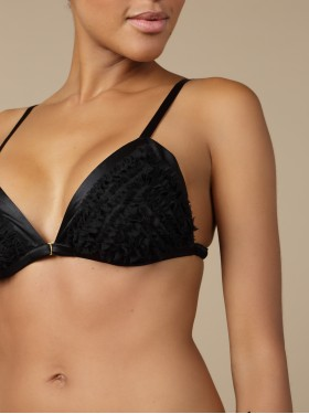 Triangle bra Insolente Black