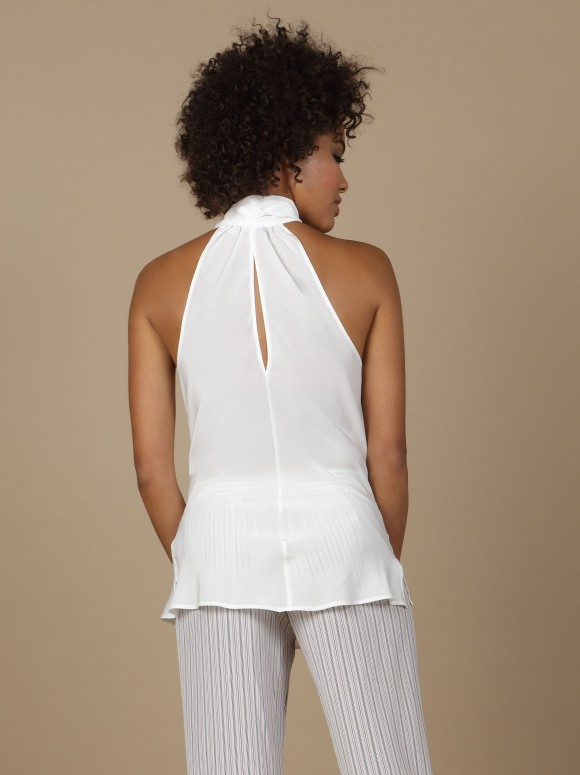 Marjolaine - Tank top Indiscrete 3IND4101 Natural