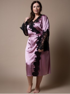 Negligee Idylle Hyacinth/Black